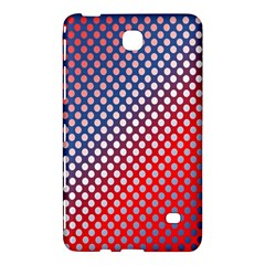 Dots Red White Blue Gradient Samsung Galaxy Tab 4 (8 ) Hardshell Case  by BangZart