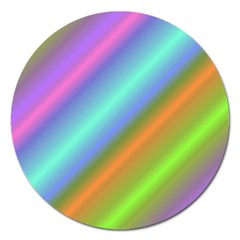 Background Course Abstract Pattern Magnet 5  (round) by BangZart