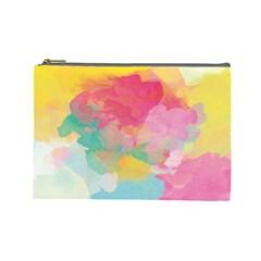 Watercolour Gradient Cosmetic Bag (large)
