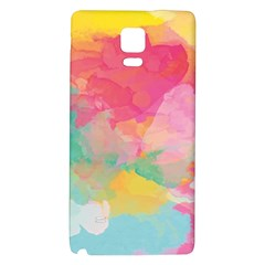Watercolour Gradient Galaxy Note 4 Back Case by BangZart