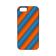 Diagonal Stripes Striped Lines Apple Iphone 5 Classic Hardshell Case (pc+silicone)