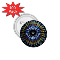 Rose Window Strasbourg Cathedral 1 75  Buttons (100 Pack)  by BangZart