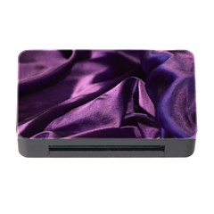 Shiny Purple Silk Royalty Memory Card Reader With Cf