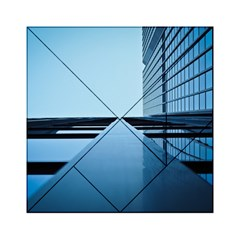 Architecture Modern Building Facade Acrylic Tangram Puzzle (6  X 6 ) by BangZart