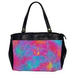 Abstract Fantastic Fractal Gradient Office Handbags (2 Sides)