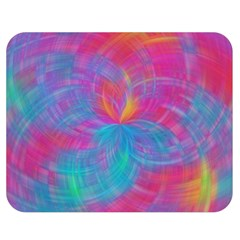 Abstract Fantastic Fractal Gradient Double Sided Flano Blanket (medium)  by BangZart