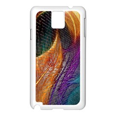 Graphics Imagination The Background Samsung Galaxy Note 3 N9005 Case (white)
