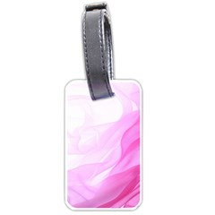 Material Ink Artistic Conception Luggage Tags (one Side)  by BangZart
