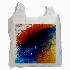 Colorful Pattern Color Course Recycle Bag (one Side) by BangZart