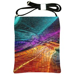 Graphics Imagination The Background Shoulder Sling Bags by BangZart