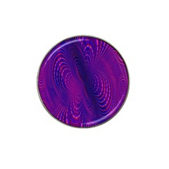 Abstract Fantastic Fractal Gradient Hat Clip Ball Marker by BangZart