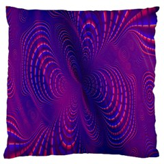 Abstract Fantastic Fractal Gradient Standard Flano Cushion Case (one Side) by BangZart