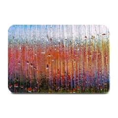 Glass Colorful Abstract Background Plate Mats