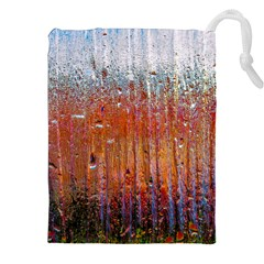 Glass Colorful Abstract Background Drawstring Pouches (xxl) by BangZart
