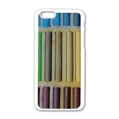 Pastels Cretaceous About Color Apple Iphone 6/6s White Enamel Case by BangZart