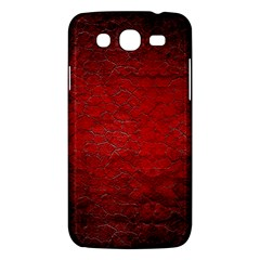 Red Grunge Texture Black Gradient Samsung Galaxy Mega 5 8 I9152 Hardshell Case  by BangZart