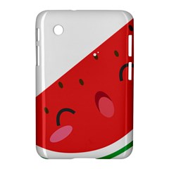 Watermelon Red Network Fruit Juicy Samsung Galaxy Tab 2 (7 ) P3100 Hardshell Case  by BangZart