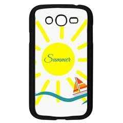 Summer Beach Holiday Holidays Sun Samsung Galaxy Grand Duos I9082 Case (black)