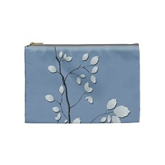 Branch Leaves Branches Plant Cosmetic Bag (medium)  by BangZart