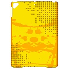 Texture Yellow Abstract Background Apple Ipad Pro 9 7   Hardshell Case by BangZart