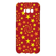 Star Stars Pattern Design Samsung Galaxy S8 Plus Hardshell Case  by BangZart
