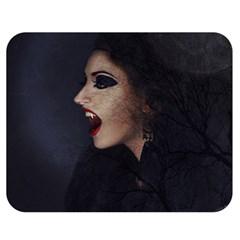 Vampire Woman Vampire Lady Double Sided Flano Blanket (medium)  by BangZart