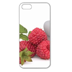 Fruit Healthy Vitamin Vegan Apple Seamless Iphone 5 Case (clear) by BangZart