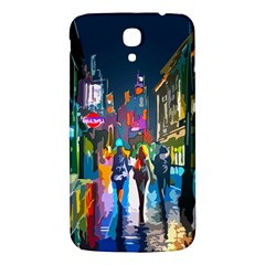 Abstract Vibrant Colour Cityscape Samsung Galaxy Mega I9200 Hardshell Back Case by BangZart