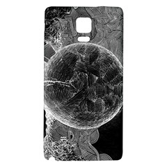 Space Universe Earth Rocket Galaxy Note 4 Back Case by BangZart