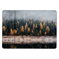 Trees Plants Nature Forests Lake Samsung Galaxy Tab 10 1  P7500 Flip Case by BangZart