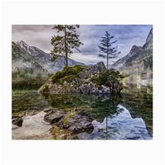 Hintersee Ramsau Berchtesgaden Small Glasses Cloth (2 Side)