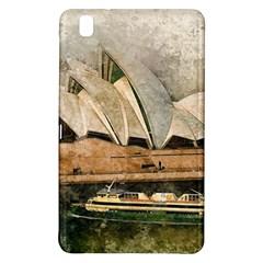 Sydney The Opera House Watercolor Samsung Galaxy Tab Pro 8 4 Hardshell Case by BangZart