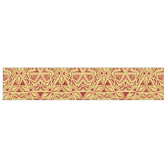 Tribal Pattern Hand Drawing 2 Small Flano Scarf by Cveti