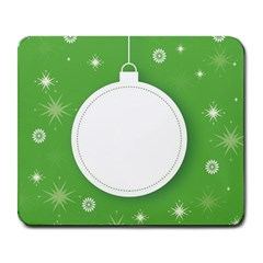 Christmas Bauble Ball Large Mousepads
