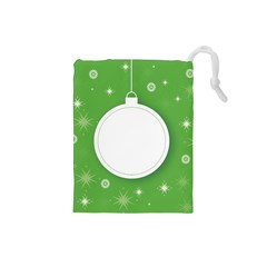 Christmas Bauble Ball Drawstring Pouches (small)  by BangZart