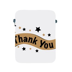 Thank You Lettering Thank You Ornament Banner Apple Ipad 2/3/4 Protective Soft Cases
