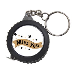 Lettering Miss You Banner Measuring Tape by BangZart