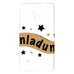 Einladung Lettering Invitation Banner Galaxy Note 4 Back Case by BangZart