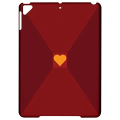 Heart Red Yellow Love Card Design Apple Ipad Pro 9 7   Hardshell Case by BangZart