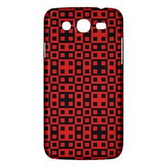 Abstract Background Red Black Samsung Galaxy Mega 5 8 I9152 Hardshell Case  by BangZart