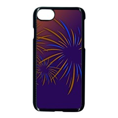 Sylvester New Year S Day Year Party Apple Iphone 7 Seamless Case (black) by BangZart