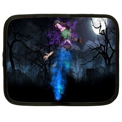 Magical Fantasy Wild Darkness Mist Netbook Case (xxl)  by BangZart
