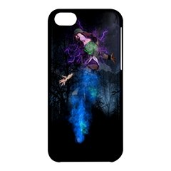 Magical Fantasy Wild Darkness Mist Apple Iphone 5c Hardshell Case by BangZart
