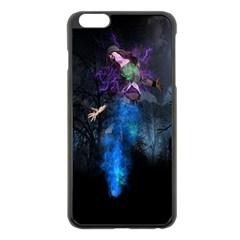 Magical Fantasy Wild Darkness Mist Apple Iphone 6 Plus/6s Plus Black Enamel Case by BangZart