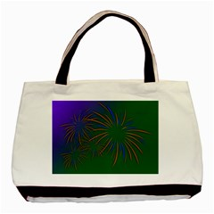 Sylvester New Year S Day Year Party Basic Tote Bag by BangZart