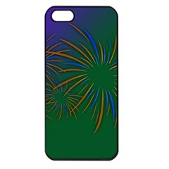 Sylvester New Year S Day Year Party Apple Iphone 5 Seamless Case (black) by BangZart