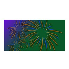Sylvester New Year S Day Year Party Satin Wrap by BangZart
