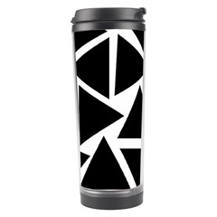 Template Black Triangle Travel Tumbler by BangZart