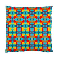 Pop Art Abstract Design Pattern Standard Cushion Case (one Side) by BangZart