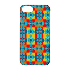 Pop Art Abstract Design Pattern Apple Iphone 8 Hardshell Case by BangZart